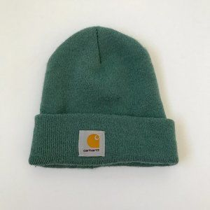 Carhartt Mens Acrylic Watch Hat Beanie Blue Green